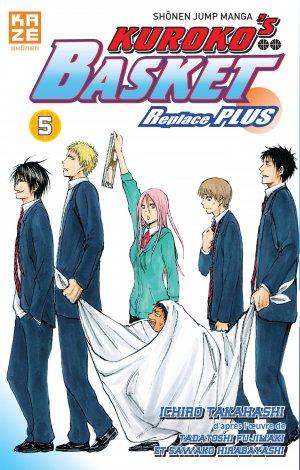 couverture, jaquette Kuroko's Basket Replace PLUS 5  (kazé manga) Manga