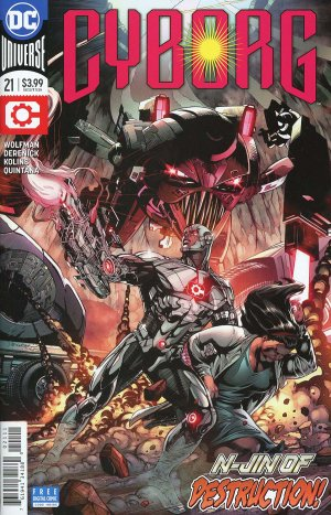 Cyborg 21 Issues V2 (2016 - Ongoing)