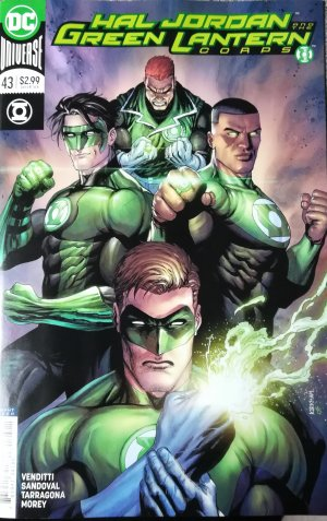Green Lantern Rebirth # 43 Issues (2016-2018)