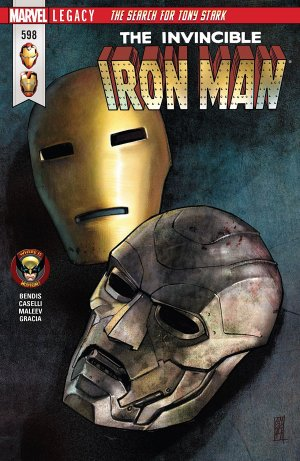 Invincible Iron Man # 598 Issues V3 (2017 - 2018)