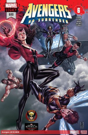 Avengers # 680 Issues V1 Suite (2017 - 2018)