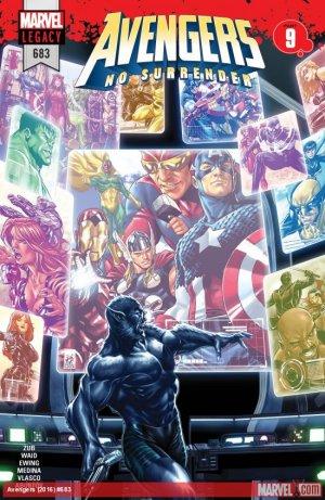 Avengers # 683 Issues V1 Suite (2017 - 2018)