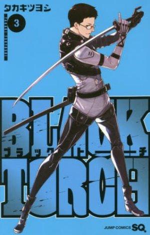 couverture, jaquette Black Torch 3  (Shueisha)