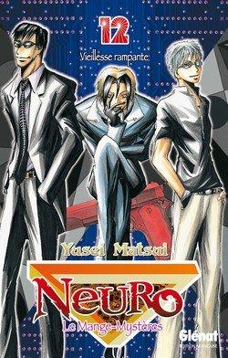 couverture, jaquette Neuro - le mange mystères 12  (Glénat Manga)