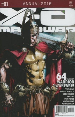 X-O Manowar édition Issues V3 - Annuals (2016)