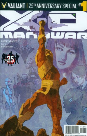 X-O Manowar - 25th Anniversary Special édition Issues