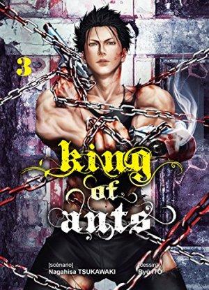 couverture, jaquette King of Ants 3  (Komikku Editions)