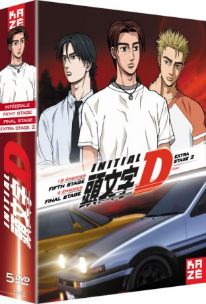 Initial D - Extra Stage 2 + Fifth Stage   Final Stage  Intégrale DVD