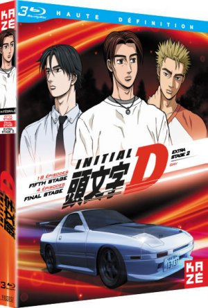 Initial D - Extra Stage 2 + Fifth Stage   Final Stage  Intégrale Blu-ray