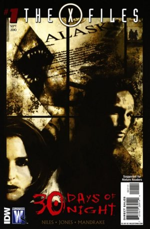 The X-Files / 30 Days of Night édition Issues (2010 - 2011)