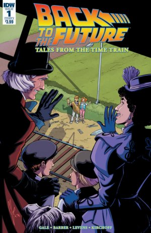 Back to the Future - Tales from the Time Train édition Issues (2017 - 2018)