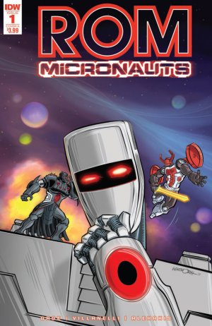 ROM and the Micronauts édition Issues (2017 - 2018)
