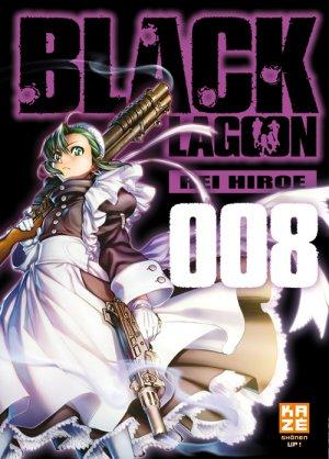 couverture, jaquette Black Lagoon 8 Française 2ème Edition (kazé manga)