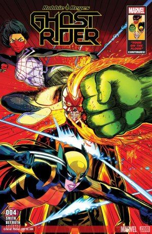 Ghost Rider # 4 Issues V8 (2016 - 2017)