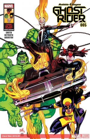 Ghost Rider # 5 Issues V8 (2016 - 2017)