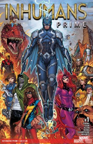 Inhumans Prime édition Issues