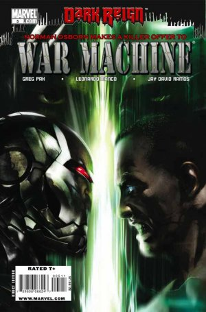 War Machine # 5 Issues V2 (2009 - 2010)
