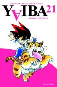 couverture, jaquette Yaiba 21  (soleil manga)