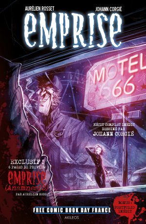 Free Comic Book Day France 2018 - Emprise - Motel 66