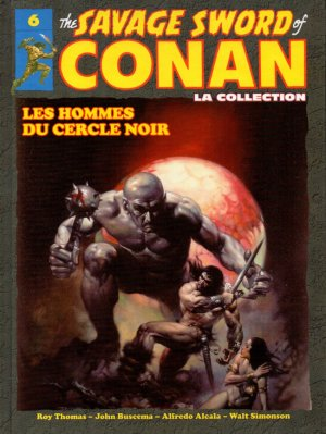 The Savage Sword of Conan # 6