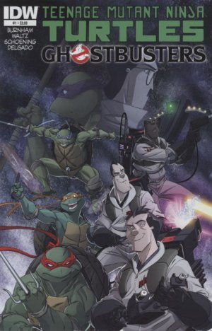 Teenage Mutant Ninja Turtles / Ghostbusters édition Issues (2014 - 2015)