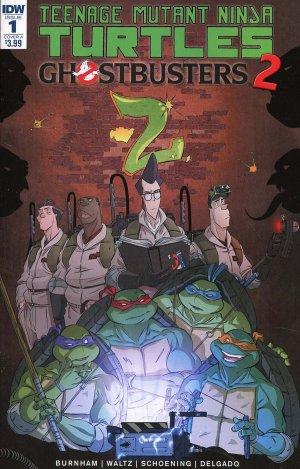 Teenage Mutant Ninja Turtles / Ghostbusters 2 édition Issues (2017)
