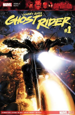 Damnation - Johnny Blaze - Ghost Rider # 1 Issue (2018)