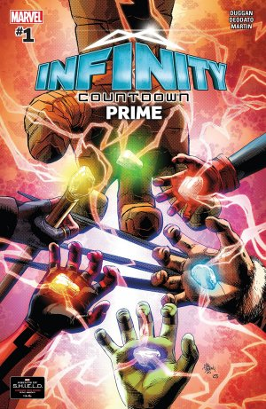 Infinity Countdown Prime # 1 Issue (2018)