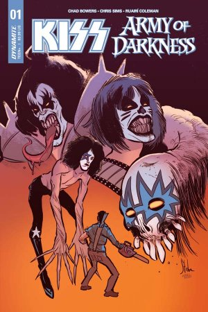 KISS / Army of Darkness édition Issues (2018)