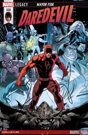 Daredevil # 600 Issues V1 Suite (2018 - Ongoing)