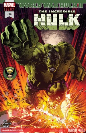 The Incredible Hulk # 714 Issues V4 (2017 - Ongoing)