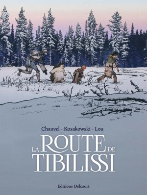 La route de Tibilissi