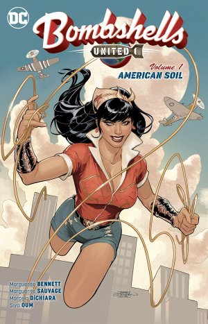 Bombshells United édition TPB softcover (souple)