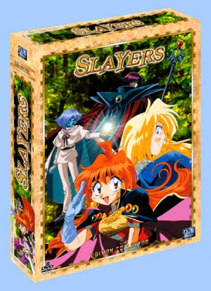 Slayers édition COLLECTOR Intégrale - VO/VF - NEW PACKING