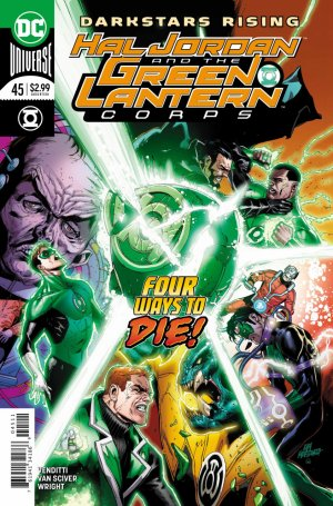 Green Lantern Rebirth # 45 Issues (2016-2018)