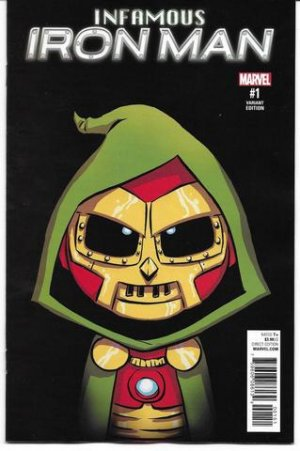 Infamous Iron Man # 1