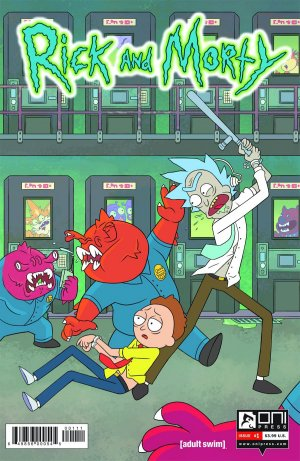 Rick et Morty édition Issues