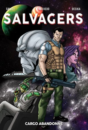 Salvagers édition TPB softcover (souple)
