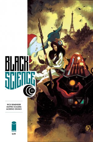 Black Science # 35 Issues (2013 - 2019)