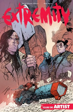 Extremity édition TPB softcover (souple)