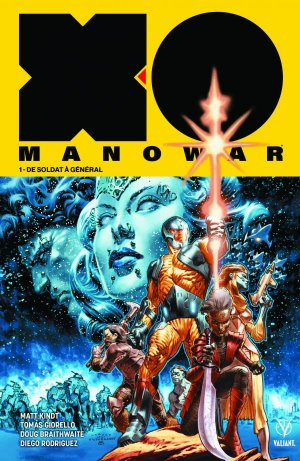 X-O Manowar édition TPB hardcover (cartonnée) - Issues V4