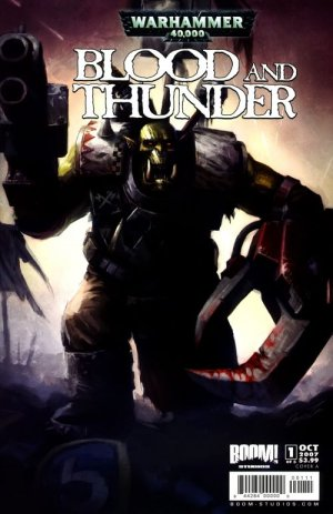 Warhammer 40,000 - Blood and Thunder édition Issues (2007 - 2008)