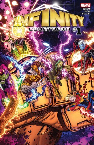 Infinity wars - Prelude # 1 Issues (2018)