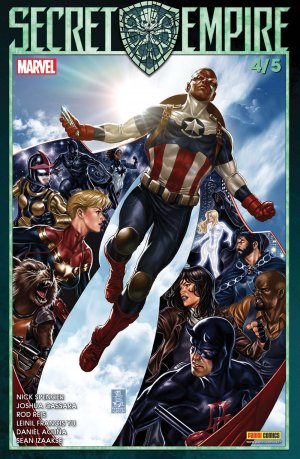Secret Empire # 4 Kiosque (2018)