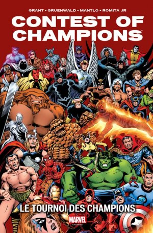 Marvel Super Hero Contest of Champions # 1 TPB Hardcover - Marvel Vintage
