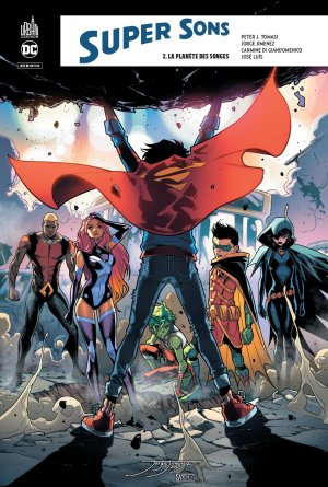 Super Sons 2 TPB hardcover (cartonnée)