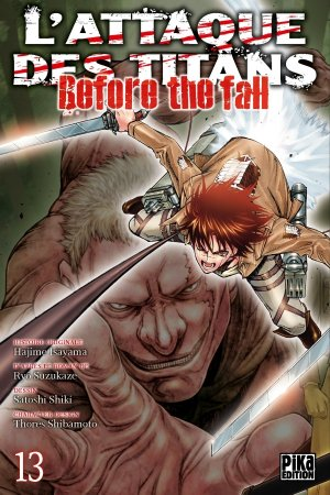 L'Attaque des Titans - Before the Fall # 13