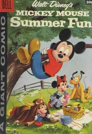 Walt Disney's Mickey Mouse Summer Fun édition Issues