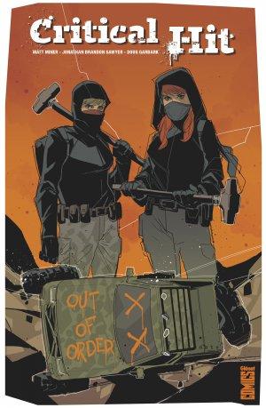 Critical Hit édition TPB hardcover (cartonnée)
