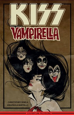 KISS / Vampirella édition TPB Softcover (souple)